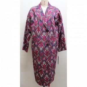 Batik patern coat【RE LEAN】