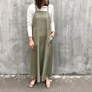 apron skirt【RE LEAN】