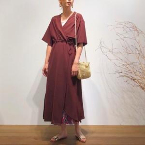 Long winding dress【RE LEAN】