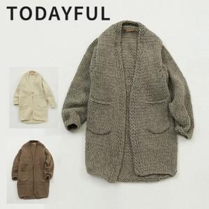 Handknit Long Cardigan 【TODAYFUL】