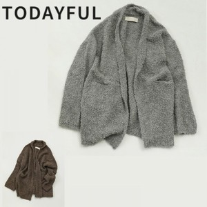 Boucle Knit Cardigan【TODAYFUL】
